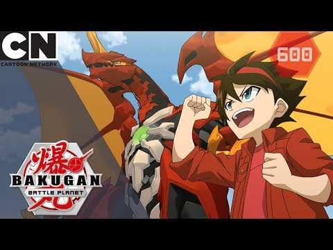 Bakugan: Battle Planet | Battle Ban | Cartoon Network UK