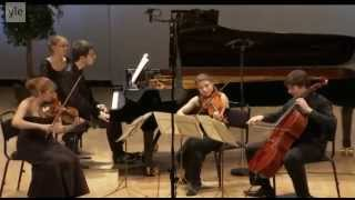 Oskar Jezior plays Mozart Piano Quartet E-flat Major K. 493