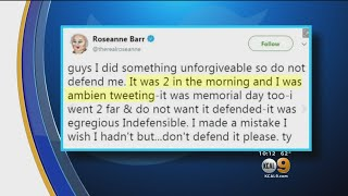 'Ambien Tweeting': Roseanne Barr Cites Usage Of Sleep Aid After Twitter Controversy