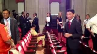Bill Imada at White House Initiative on Asian American Pacific Islanders WHIAAPI Ceremony