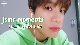 jeno being a pro asmr youtuber for like 5 minutes