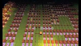 Minecraft Noteblocks - Soviet March(Red Alert 3)