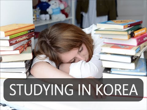 WHY KOREANS STUDY CRAZY HARD??? KOREAN SAT & UNIVERSITY LIFE