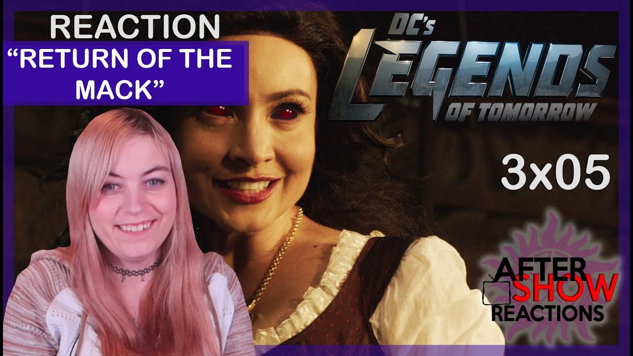 """Download Legends Of Tomorrow 3x05 - """"Return Of The Mack"""" Reaction Part 2"""