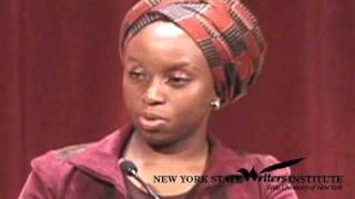 Chimamanda Ngozi Adichie at the NYS Writers Institute in 2007
