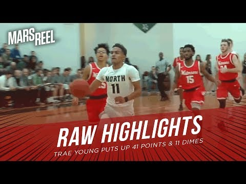 Trae Young Puts Up 41 Points & 11 Dimes vs Westmoore | RAW HIGHLIGHTS