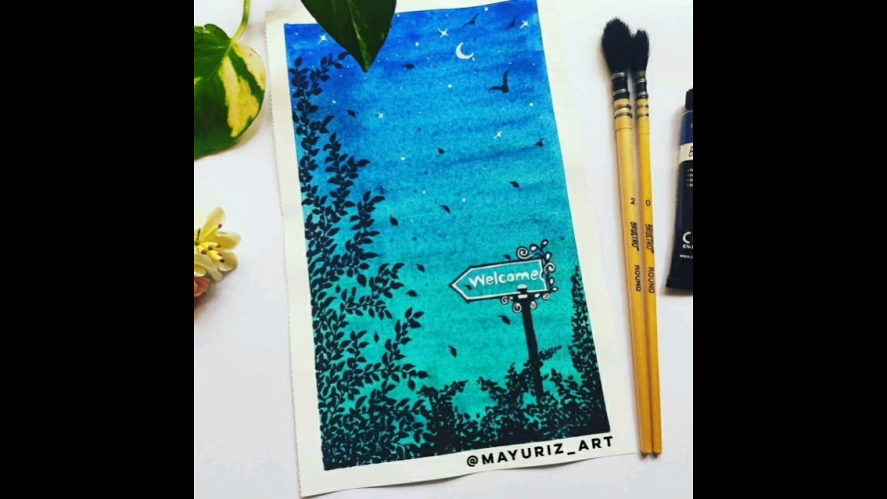Watercolor Painting | Mayuri Salunke | @mayuriz_art