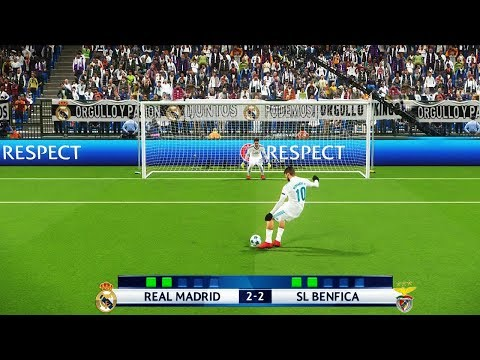 PES 2018 RUMO AO ESTRELATO #56 PÊNALTI NA UEFA CHAMPIONS LEAGUE !!!