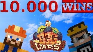 10.000 WINS (EFSANE KADRO)  Minecraft Egg Wars