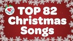 Top 82 Christmas Songs and Carols with Lyrics 2019 🎅
