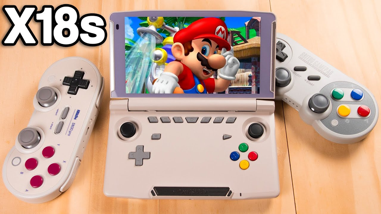 We Finally have a Powerful Clamshell Handheld! - x18s First Look