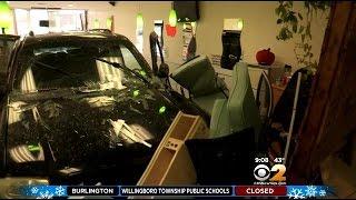 Car Slams Into Long Island Nail Salon