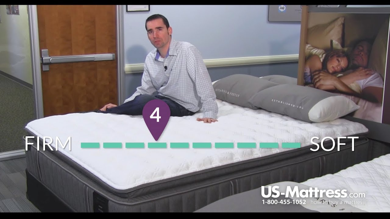 stearns and foster estate bella claire luxury firm euro pillow top mattress expert review