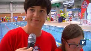 Mariella D'Aurizio diventa istruttrice di nuoto