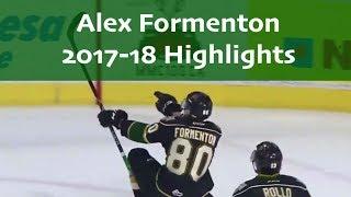 Alex Formenton 2017-18 OHL Highlights
