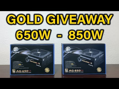 GIVEAWAY + Review - 80+ Gold Power Supply - ApexGaming