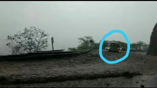 Heavy Flood & Rain in charmady Ghat