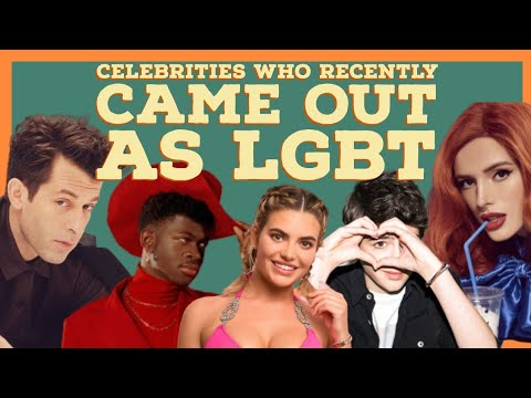 Celebrities who recently came out as LGBT. from YouTube · Duration:  10 minutes 50 seconds