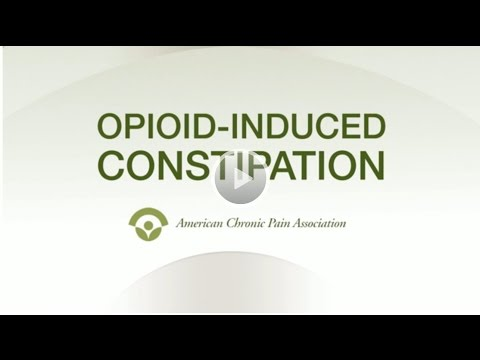 Opioid Induced Constipation