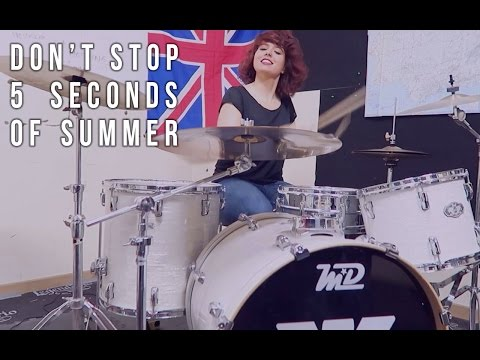 5 SOS - Don't Stop (Drum Cover) by Kat Almagro