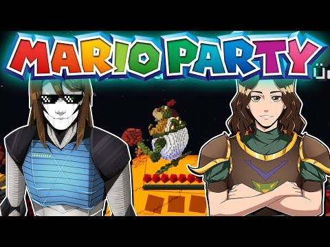 Wir spielen die neue Map! | Minecraft Mario Party