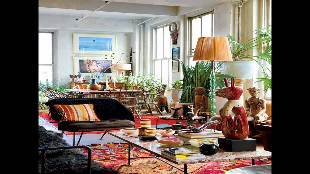 Amazing eclectic decorating ideas youtube for Home design ideas themes
