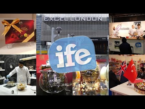 International Food and Drink Event IFE 2017 @Excel, London
