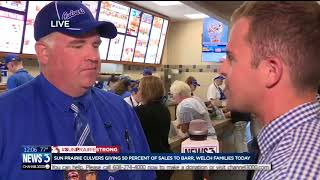 Sun Prairie Culver's manager on explosion fundraiser: 'When something comes up like this, we react'