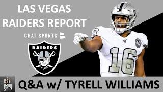 Raiders Rumors   Tyrell Williams Interview On Derek Carr Vs. Aaron Rodgers &  Las Vegas Vs. Oakland