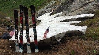 Skiing Tuckerman's Ravine on the 4th of July