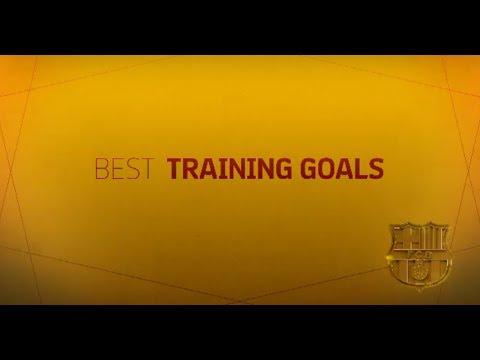 THE BARÇA OSCARS 2018 | Best training goals