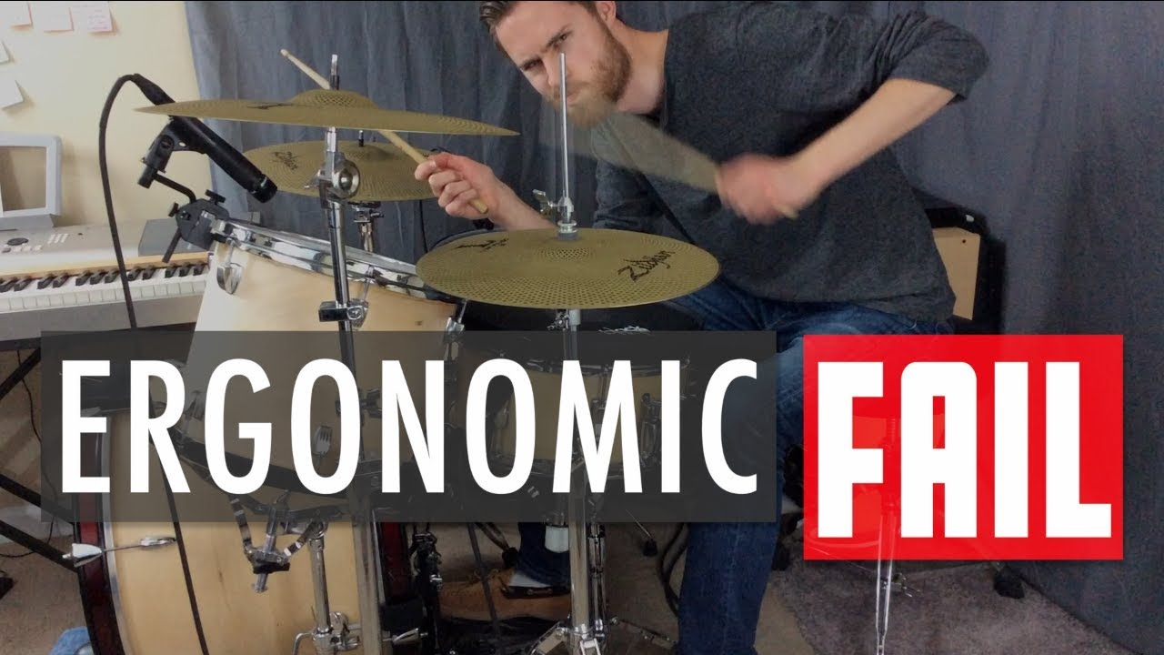 5 Reasons Why You're NOT Comfortable at Your Drum Set
