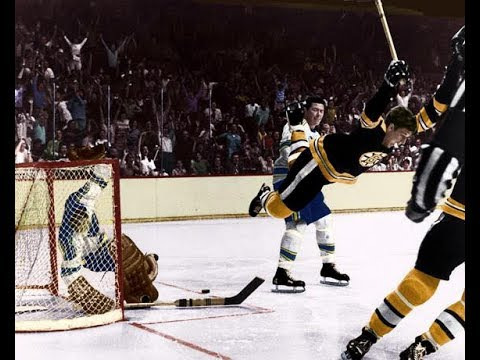 BOBBY ORR Career Replay 1966-67 Game #3 vs Montreal Canadians ITC Hockey