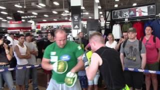 FIGHTING IRISH! - NOEL MURPHY (10-0) SMASHES THE PADS IN NEW YORK CITY / GARCIA v BRONER