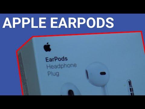 МОЁ ПЕРВОЕ ЗНАКОМСТВО С ТЕХНИКОЙ APPLE | Распаковка наушников Apple EarPods