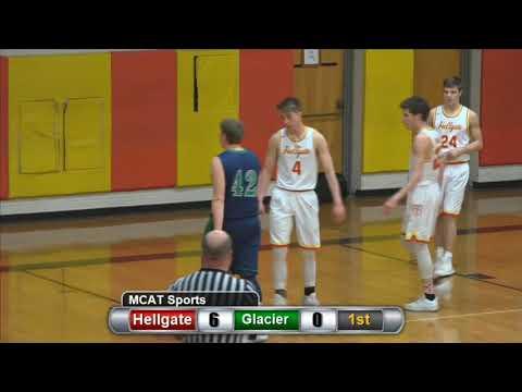 Hellgate vs Glacier High School Boy's Basketball 02-17-2018