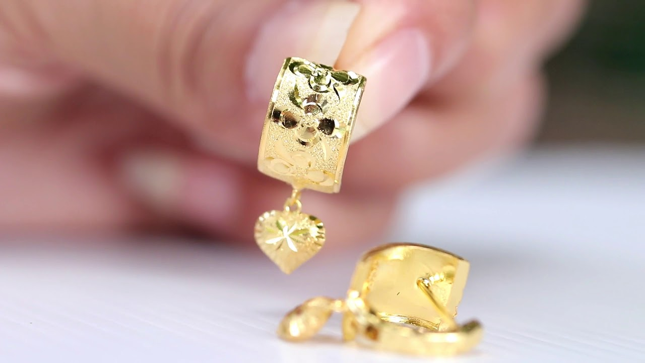 23kgold Latest Designs Of 18k Gold Earrings On S For The Holidays