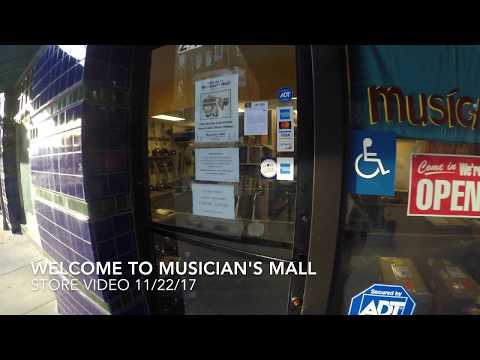 Musician's Mall Store Video 11/22