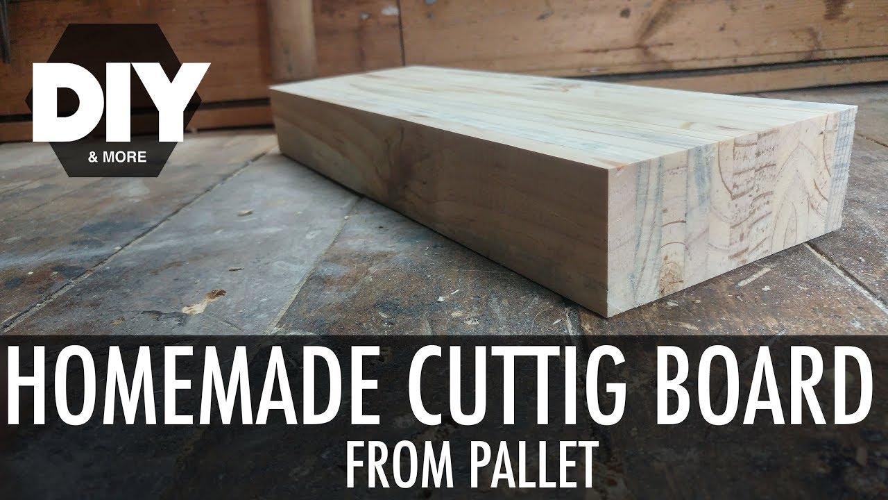 Cucina Pallet Fai Da Te homemade cutting board [from pallet] - tagliere da cucina fai da te