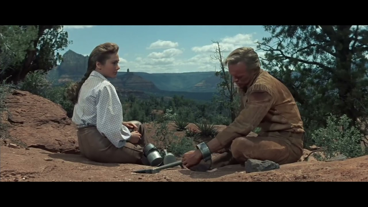 Download The last wagon (1956) - Felicia Farr in leather pants