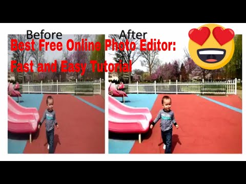 Quick And Easy Photo Editing: Free Online Photo Editor