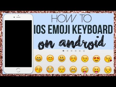 IOS 7 Emoji Keyboard On Android!