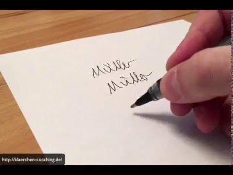 Wie Kriege Ich Die Unterschrift In Den Lebenslauf Tutorial Youtube