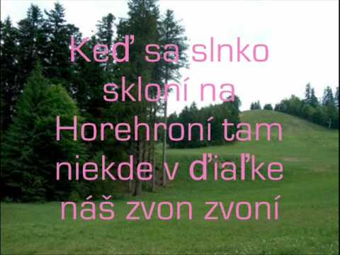 Eurovision 2010 Slovakia KRISTINA Horehronie (karaoke & lyrics)