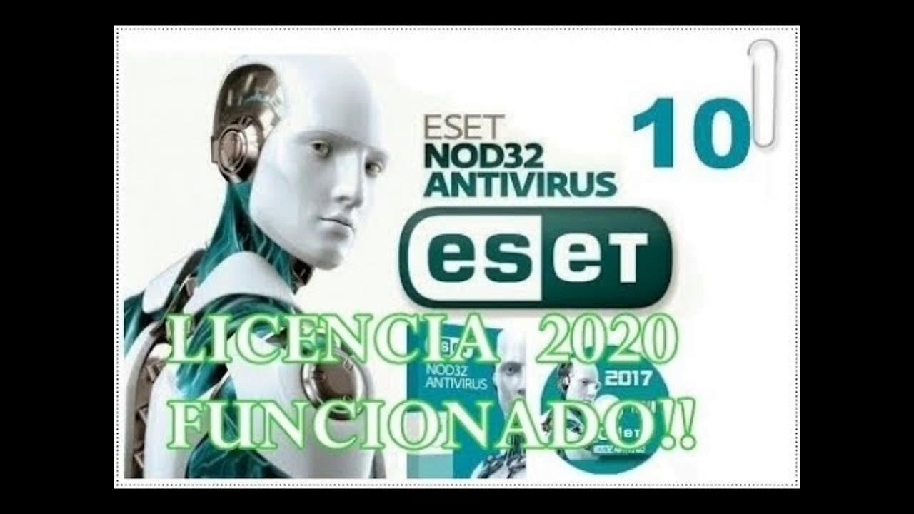 Licencias nod32 10 actualizadas 2020