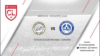 Diriangen FC vs Club Deportivo Universitario