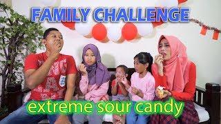 extreme sour candy challenge agha ikutan nyobain