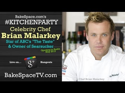 Brian Malarkey of Top Chef & The Taste on #KitchenParty
