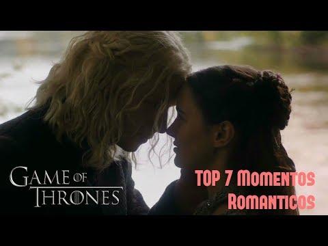 TOP 7 MOMENTOS ROMANTICOS DE GAME OF THRONES