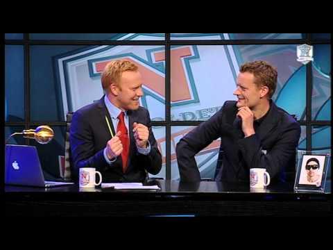 Natholdet og Frank Hvam kigger på tv-ansigter